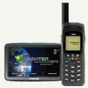 Iridium Online: Iridium 9555 + ГЛОНАСС (GPS / ГЛОНАСС) навигатор