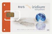 Российская Iridium SIM карта (Ваучер оплаты Iridium RUS 600)