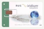 Российская Iridium SIM карта (Ваучер оплаты Iridium RUS 5000 РФ)