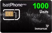 Карта пополнения баланса IsatPhone Pro 1000 единиц