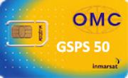 Карта пополнения баланса IsatPhone номиналом 50 единиц OMC
